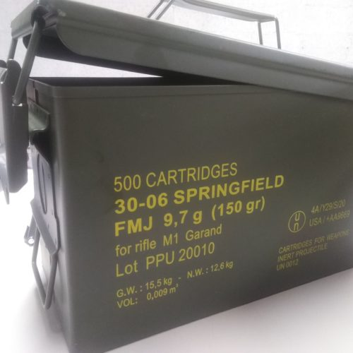 Ammo Canister Metal