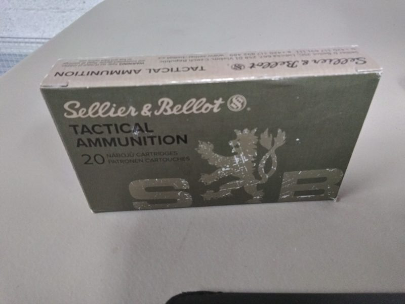 Sellier & Bellot 300 AAC Blackout 200gr FMJ 20 Round Box
