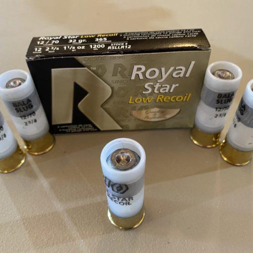 Rio Royal Star 12ga. 2 3/4 in. Low Recoil Slug