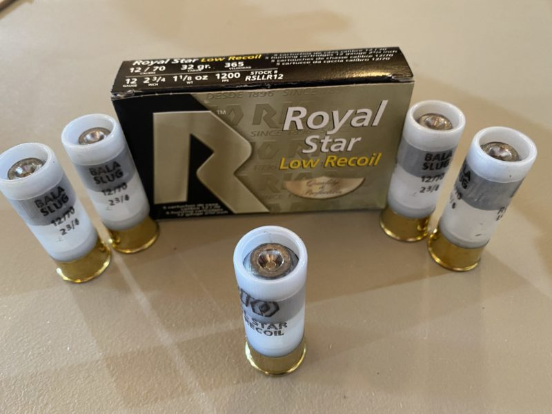 Rio Royal Star 12ga. 2 3/4 in. Low Recoil Slug