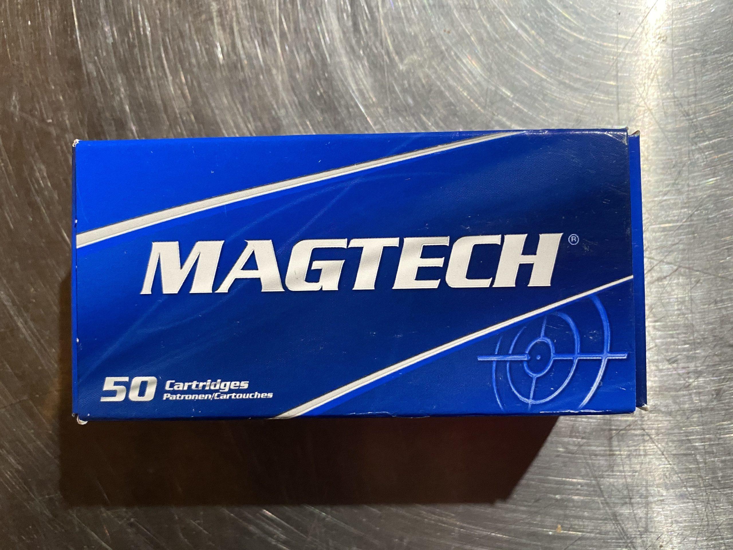 Magtech 9MM Luger 124g FMJ 50 rounds