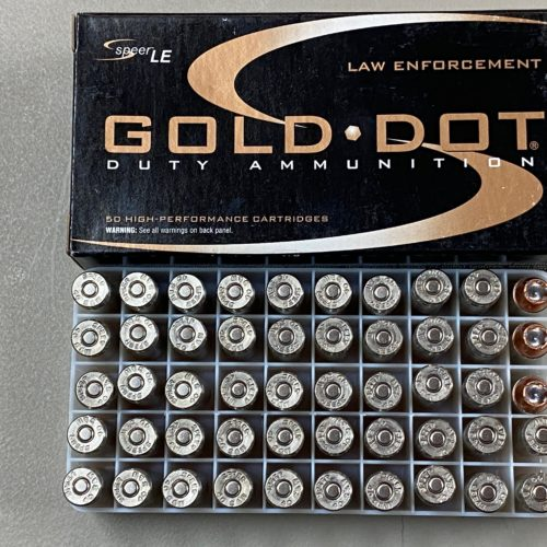 Speer Gold Dot .40S&W 180g GDHP 50 Round Box