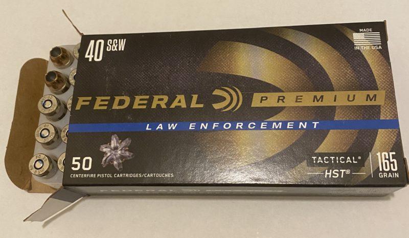 Federal Premium Law Enforcement .40 S&W, 165 Grain, *50 Rounds*
