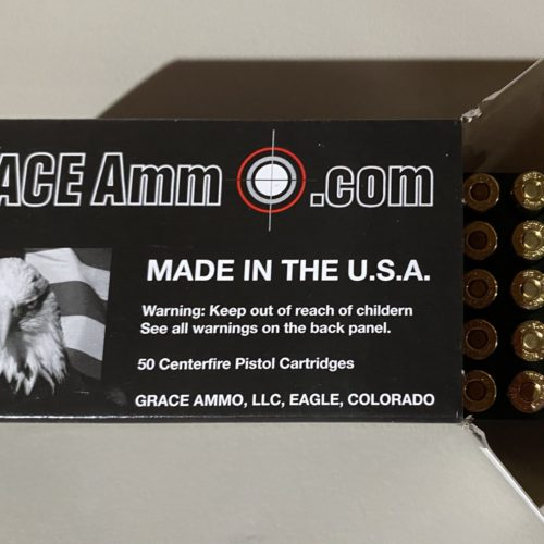 9MM 124g New Brass 50 Round Box NO LIMIT