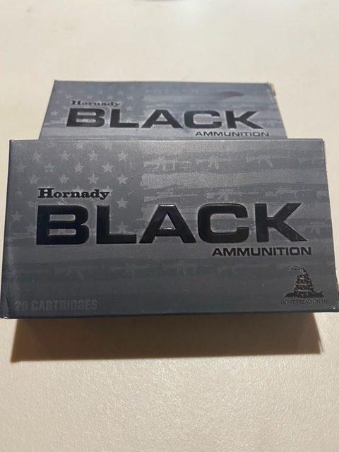 Hornady Black 5.56 Nato 62gr FMJ 20 Round Box